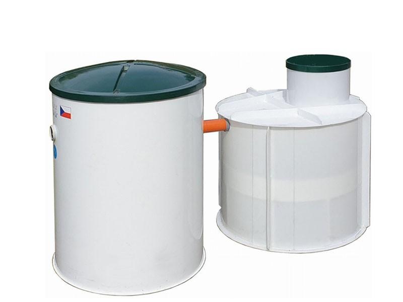 SESTAVA - Domovní ČOV Aquatec AT6 a PPA jímka 3 m³