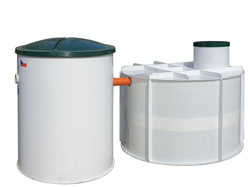 SESTAVA - Domovní ČOV Aquatec AT6 a PPA jímka 5 m³