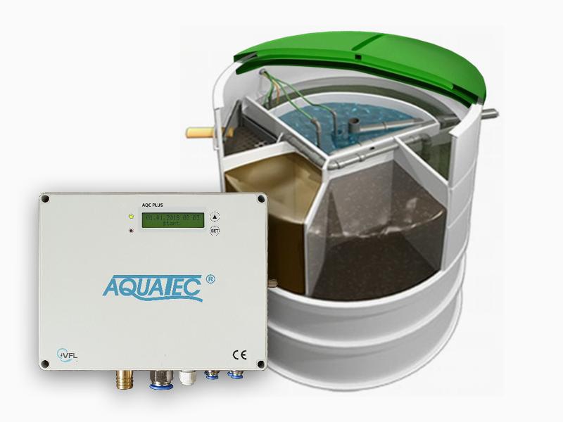 Prémiová domovní ČOV Aquatec AT6 PLUS