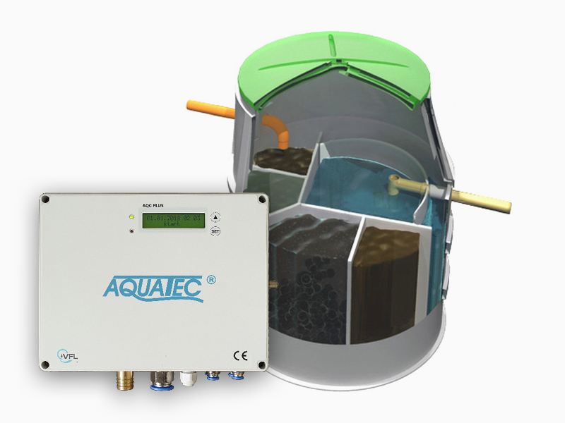 Prémiová domovní ČOV Aquatec AT10 PLUS